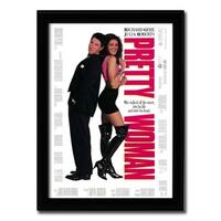 Framed Pretty Woman movie poster