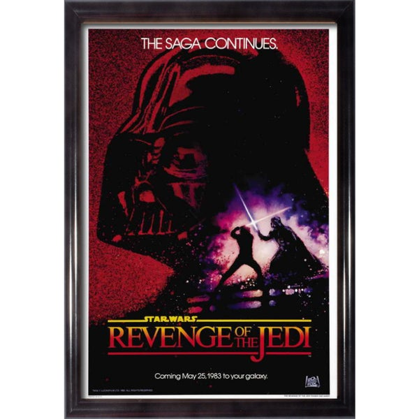 Framed Revenge of the Jedi movie poster 27855061