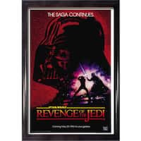 Framed Revenge of the Jedi movie poster