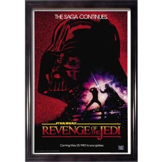 Framed Revenge of the Jedi movie poster
