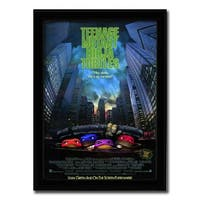 Framed Teenage Mutant Ninja Turtles: The Movie poster