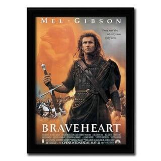 Framed Braveheart movie poster