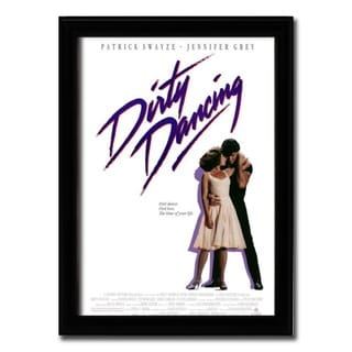 Framed Dirty Dancing movie poster