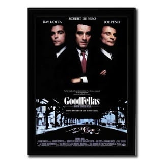 Framed Goodfellas movie poster