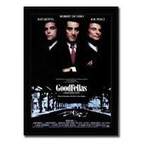 Framed Goodfellas movie poster