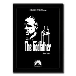 Framed The Godfather movie poster