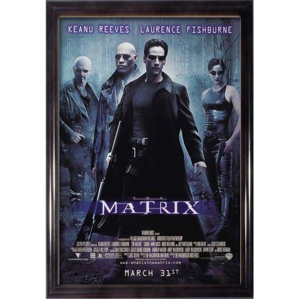 Framed The Goonies movie poster
