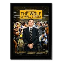 Framed The Wolf of Wall Street movie poster