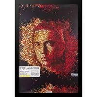 Framed Autographed Eminem Poster