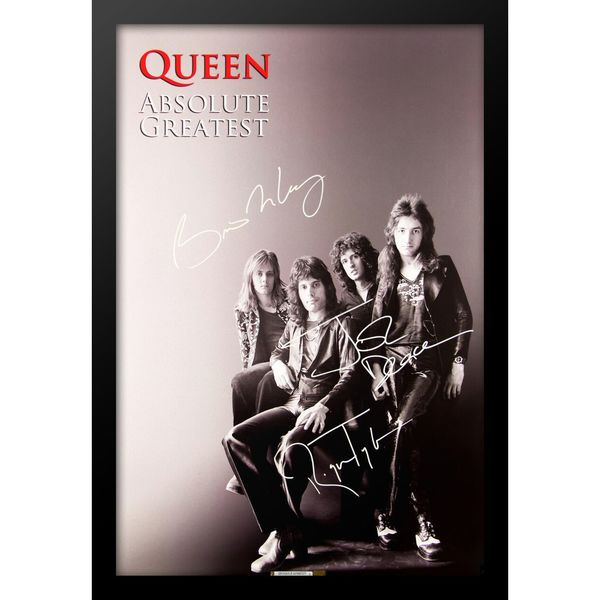 Autographed Queen 'Absolute Greatness' Poster