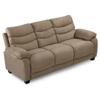 Lyke Home Madeline Microsuede Sofa