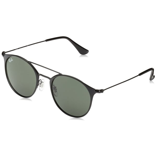 3cade9d189 Shop Ray-Ban Unisex RB3546 186 Black Frame Green Classic G-15 52 mm ...