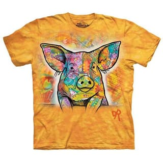 THE MOUNTAIN RUSSO PIG T-SHIRT|https://ak1.ostkcdn.com/images/products/16740909/P23052742.jpg?impolicy=medium