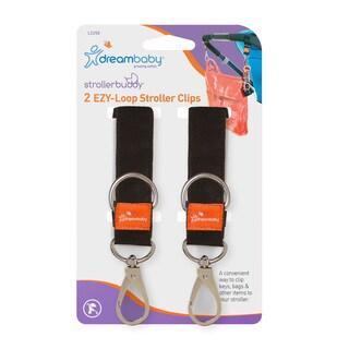 Dreambaby® Strollerbuddy® EZY-Loop Stroller Clips 2 Pack