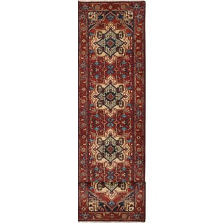 eCarpetGallery Serapi Heritage Orange Hand-knotted Wool Rug (2'7 x 12'1)|https://ak1.ostkcdn.com/images/products/16740986/P23052796.jpg?impolicy=medium