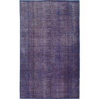 eCarpetGallery Hand-Knotted Color Transition Purple Wool Rug - 5'1 x 8'6