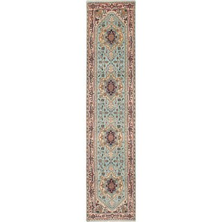 eCarpetGallery Serapi Heritage Blue Hand-knotted Wool Rug (2'7 x 11'10)
