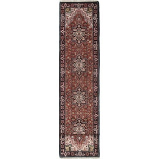 eCarpetGallery Royal Heriz Brown Hand-knotted Wool Rug (2'7 x 16'2)