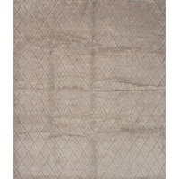 eCarpetGallery Hand-knotted Mystique Ivory Wool Rug - 9'4 x 10'10