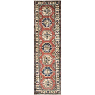 eCarpetGallery Hand-knotted Finest Gazni Brown/Ivory Wool Rug (2'9 x 10'6)