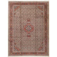 eCarpetGallery Bijar Brown/Ivory Wool Hand-knotted Rug (8'3 x 11'3)