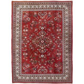 eCarpetGallery Royal Kashan Brown Wool Hand-knotted Rug - 8'4 x 11'4