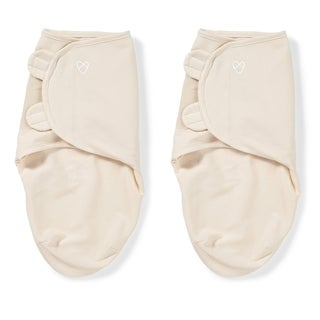 Summer Infant SwaddleMe Original Ivory Preemie (Set of 2)