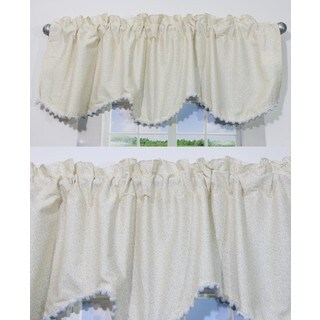 Nurture Nest Beige Valances - 2 Window Saver Pack