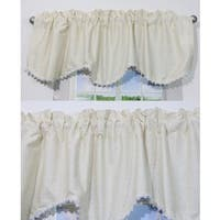 Nurture Nest Beige Valances - 2 Window Saver Pack