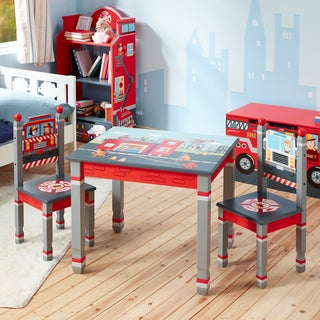 Fantasy Fields - Little Fire Fighters Table and Set of 2 Chairs
