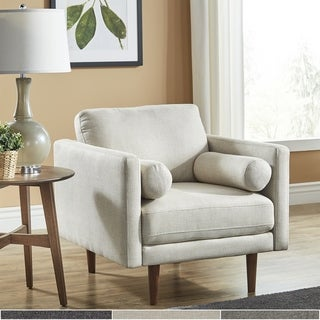 Link to Oana Mid-Century Tapered Leg Chair with Pillows by iNSPIRE Q Modern Similar Items in Living Room Chairs