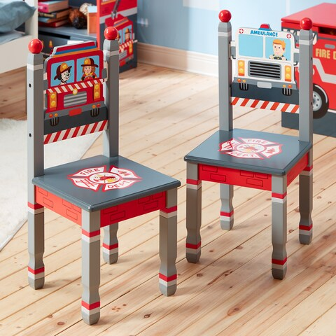 Fantasy Fields - Little Fire Fighters Set of 2 Chairs