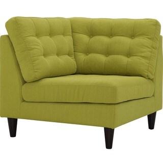 Modway Empress Upholstered Fabric Corner Sofa
