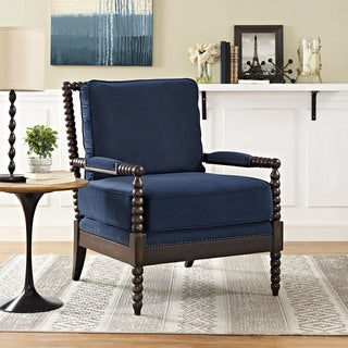 Modway Revel Off-white Fabric Upholstered Armchair