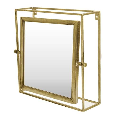 Mercana Rothwell II Gold Mirror - A