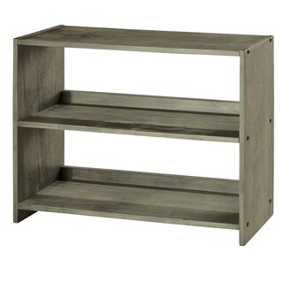 Pine Canopy Balm Antique Grey Small Kids Bookcase