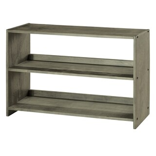 Donco Kids Louver Bookcase in Antique Grey Finish