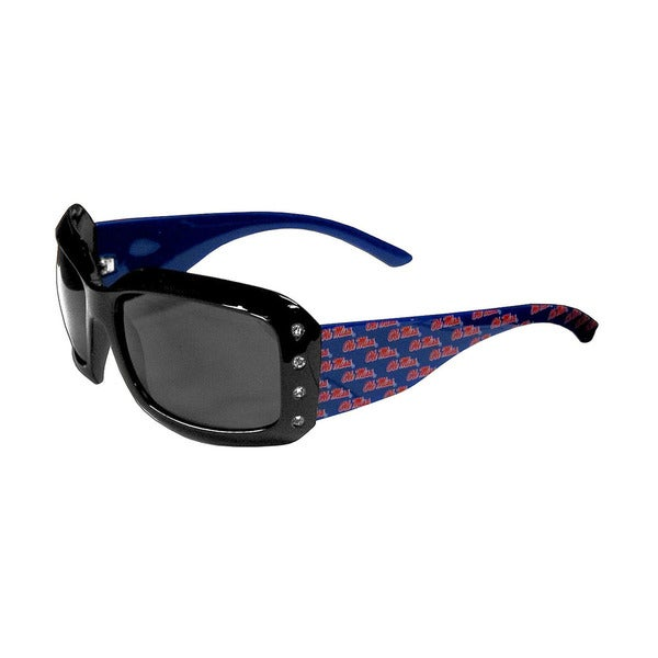 Ole Miss Rebels NCAA Women's Designer Bling Sunglasses