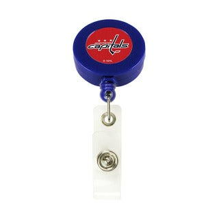 Washington Capitals Retractable Badge Reel Id Ticket Clip NHL