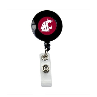 Washington State Cougars Retractable Badge Reel Id Ticket Clip NCAA