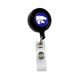 Kansas State Wildcats NCAA Retractable Badge Reel Id Ticket Clip