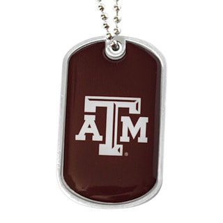 Texas A&M Aggies NCAA Dog Tag Necklace
