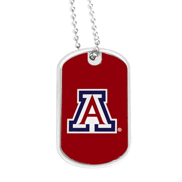 Arizona Wildcats Dog Tag Necklace Charm - NCAA