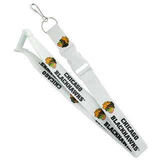Chicago Blackhawks NHL Lanyard White