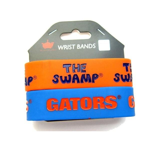 Florida Gators NCAA Rubber Wrist Band Set