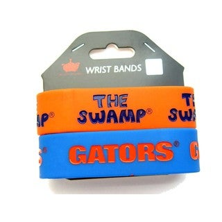Florida Gators NCAA Rubber Wrist Band Set