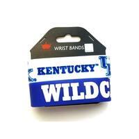 Kentucky Wildcats NCAA Rubber Wrist Band Set