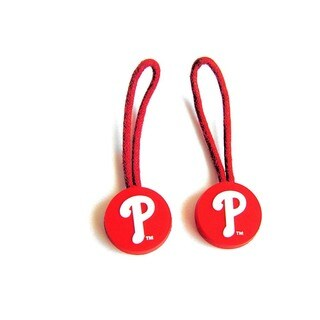 Philadelphia Phillies MLB Zipper Pull Charm Tag Luggage Id Set