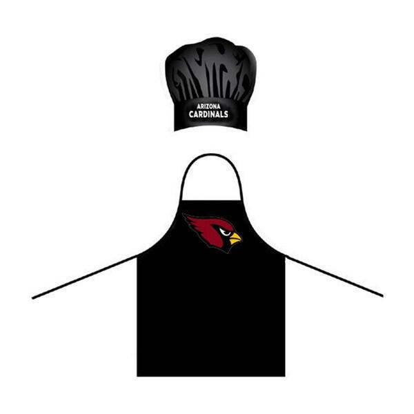 Arizona Cardinals NFL Apron and Chef Hat