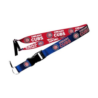 Chicago Cubs MLB Reversible Clip Lanyard Keychain Id Ticket Holder